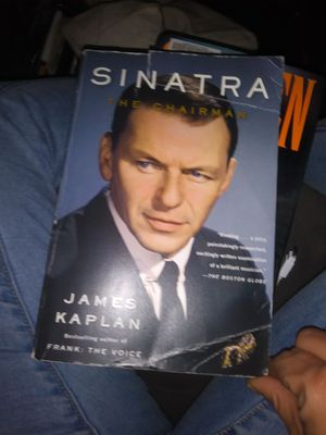 Paper back frank sinatra the chairman book for Sale in San Francisco, CA