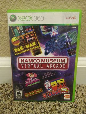 Xbox 360 Namco Museum Virtual Arcade Video Game for Sale in Modesto, CA