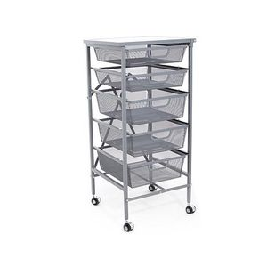 Origami 5-Drawer Storage Cart Orig $150 NEW for Sale in Lake Worth, FL