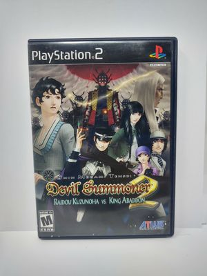 Devil Summoner PS2- CIB for Sale in Santa Clarita, CA