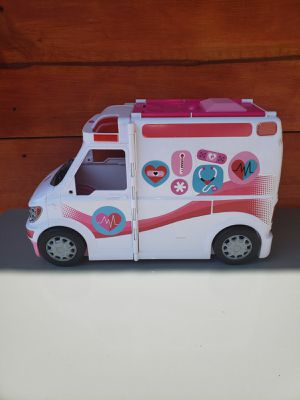 Barbie 2 in 1 ambulance hospital for Sale in Los Angeles, CA