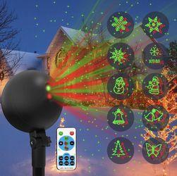 Christmas Lights Projector Laser Light Decoration for Sale in Sloan,  NV