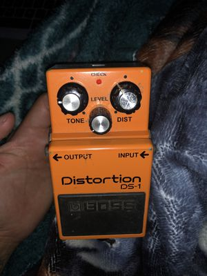 Boss Distortion Pedal for Sale in Cherry Valley, CA