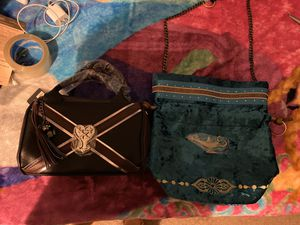 Two rare disney purse of kingdom hearts and Aladdin for Sale in Anaheim, CA