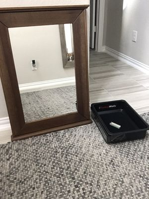 Tactical Wall concealment locker/mirror for Sale in Cedar Park, TX