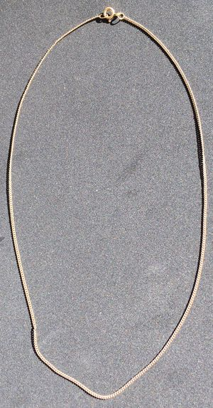 """12K Gold Filled Rose Gold Curb Link Chain, 18"""" for Sale in San Diego, CA"""