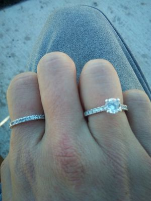 925 stamped Sterling silver promise ring for Sale in Vancouver, WA