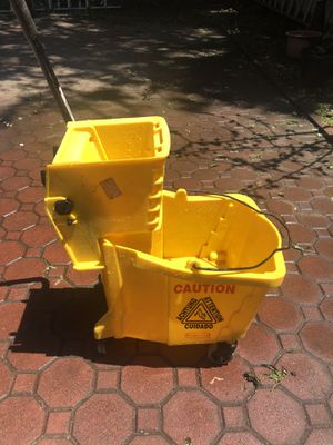Commercial Yellow Mop Bucket ‼️ for Sale in Queens, NY