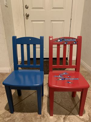 kids wooden chairs for Sale in La Mesa, CA
