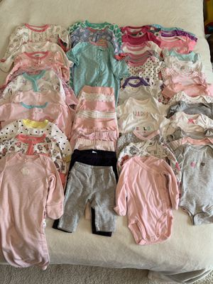 0-3 month girl clothing lot for Sale in Fairfax, VA