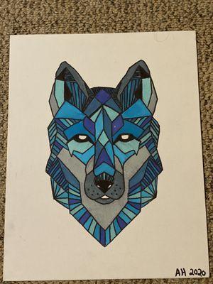 Geometric Wolf for Sale in Emmett, ID
