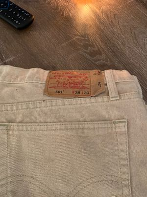 Levis 501s. Size 38-30 for Sale in Los Angeles, CA