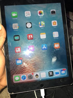 iPad Air 2 128gig ICloud locked password not for Sale in Boyds, MD
