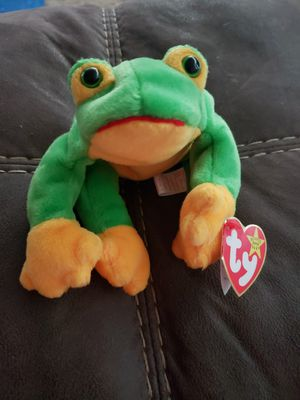 1997 Ty Beanie babies RETIRED Smoochy Frog for Sale in Toms River, NJ