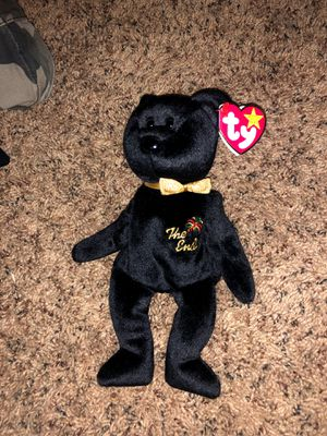 the end rare beanie babie for Sale in Wildomar, CA