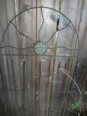 Rose/ Vine wall cast iron Garden ornament for Sale in Wichita, KS