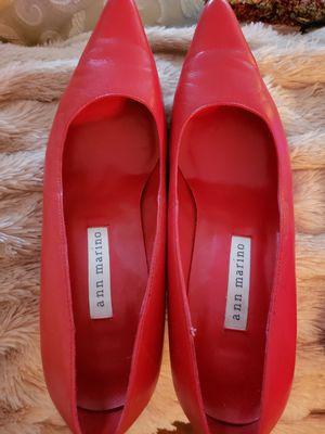 Ann Marino red high heels 6.5 for Sale in Lorton, VA