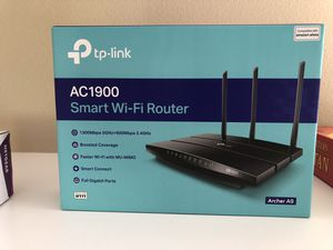 TP Link AC 1900 Wireless Router and Netgear CM 500 Modem for Sale in Irvine, CA