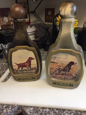 Vintage antique Beam whisky bottles for Sale in San Diego, CA