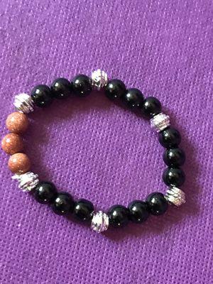 New Hematite round beads stretch Bracelet (Nuevo). for Sale in Palmdale, CA