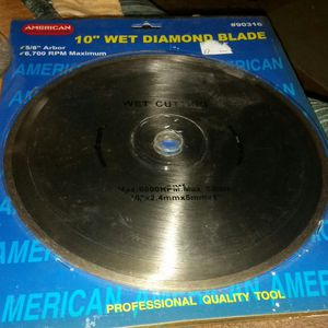 10 in wet diamond blades for Sale in Cuba, MO
