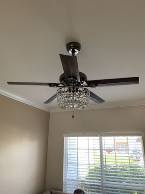 Chandelier Ceiling Fan for Sale in Burlington, NJ