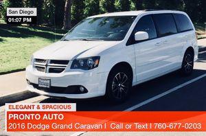 2016 Dodge * Grand Caravan RT * ELEGANT & SPACIOUS* for Sale in San Diego, CA