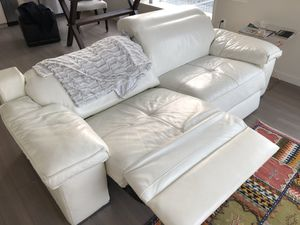 ZGallerie recliner couch for Sale in San Francisco, CA