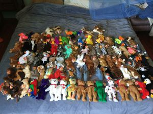 Ty beanie baby lot for Sale in Vallejo, CA