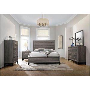 Bedroom Set/4 pcs(bed,dresser,mirror,nighstand)📦 for Sale in Miami, FL
