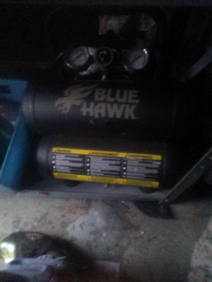 Air compressor blue hawk for Sale in Kingsport, TN