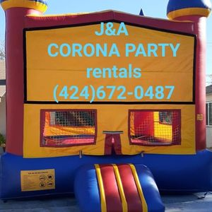 Jumper tables chairs tents carpas for Sale in Corona, CA