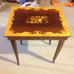 Antique music jewelry table for Sale in Herriman, UT