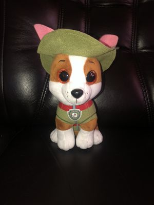 """2018 Ty Paw Patrol TRACKER Soft Plush Jungle Rescue Stuffed Toy Pup Pals 6"""" for Sale in Hayward, CA"""