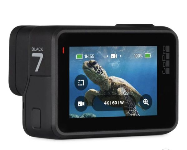 GoPro Hero 7 Black with 3 way grip arm holder