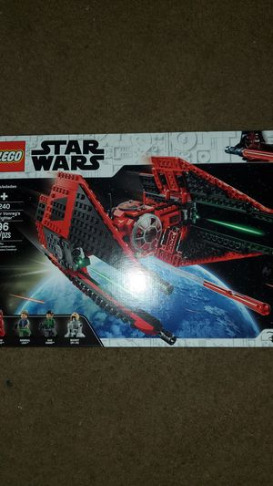 Star wars legos Major Vonregs TIE fighter for Sale in Los Angeles, CA