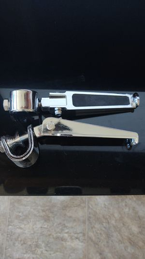 Crash bar foot pegs for Sale in Odessa, TX