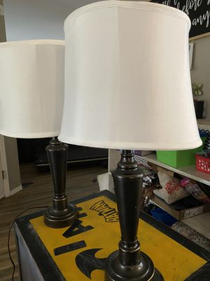 Set of Table lamps for Sale in Roy, WA