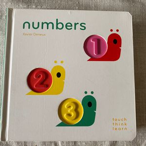 Baby Toddler Book Numbers- Touch/ Think/ Learn for Sale in Oregon City, OR