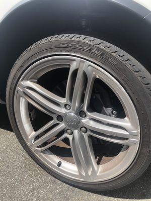 2015 Audi Q7 rims wheels tires for Sale in Suwanee, GA