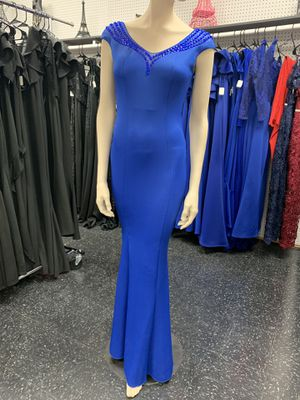 New royal blue dress for Sale in McAllen, TX