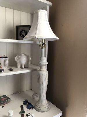 Grey/white lamp for Sale in Wichita, KS