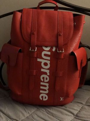 Supreme x Louis Vuitton Christopher Backpack for Sale in Dover, DE