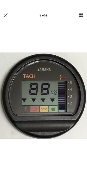 Yamaha Tach Gauge Marine Boat parts for Sale in Tampa, FL