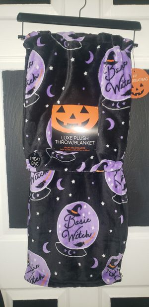 Basic Witch Magic Ball Throw Blanket for Sale in Houston, TX