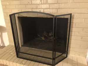 Fireplace screen new for Sale in Raleigh, NC