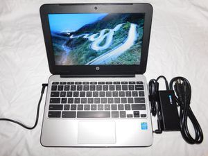 HP Google Chromebook Laptop for School w/Refurbish Battery & New Charger [Factory Reset] for Sale in Philadelphia, PA