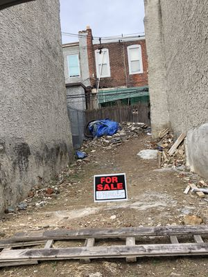 2 VACANT LOTS/LAND FOR SALE ON THE SAME BLOCK 19132 for Sale in Philadelphia, PA