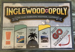 Inglewood-opoly Monopoly style game for Sale in Torrance, CA