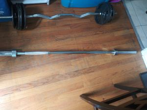 Weights bar set for Sale in Chicago, IL